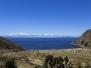 Petite marche sur l'Isla Del Sol, au milieu du lac Titicaca (côté Bolivie)