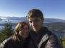 Point de vue du haut du Cerro Campanario